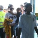 Kylie Jenner and Tyga spotted departing on a flight in Costa Rica on January 30, 2017 - 454 x 563