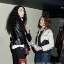 L'Wren Scott and Sandra Bernhard attend a screening of