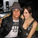 Michelle DiBenedetto and Synyster Gates