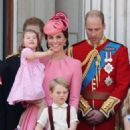 Prince Windsor and Kate Middleton : Trooping the Colour 2017 - 454 x 548