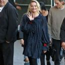Margot Robbie – Arrives at Jimmy Kimmel Live in Los Angeles