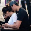 LOOK: Sweet photos of Matteo, Sarah at Pampanga event - 454 x 451