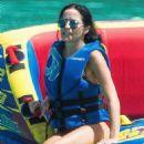 Andrea Corr – Wearing Bikini on the beach in Barbados - 454 x 681