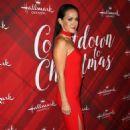 Crystal Lowe – 'Christmas at Holly Lodge' Screening in LA - 454 x 712