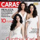 Karla Monroig, Zuleyka Rivera Mendoza, Cynthia Olavarría - Caras Magazine Cover [Puerto Rico] (August 2011)