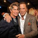 "Eric Roberts with Mickey Rourke (costars of ""The Pope of Greenwich Village"""