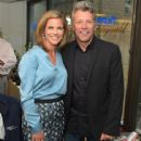 TV personality Natalie Morales and Jon Bon Jovi attend Annual Charity Day Hosted By Cantor Fitzgerald nd BGC at Cantor Fitzgerald on September 11, 2014 in New York City.