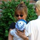 Dakota Johnson out in NYC with Jamie King (June 2, 2014) - 454 x 600