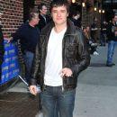 Josh Hutcherson Stops By The Letterman Show