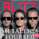 James Hetfield, Lou Reed & Lars Ulrich - 425 x 550