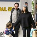 Mila Kunis – Takes her daughter to her art class in Studio City