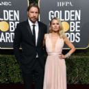 Dax Shepard and Kristen Bell At 76th Annual Golden Globe Awards - Arrivals (2019) - 400 x 600
