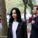 Krysten Ritter – Filming 'Jessica Jones' in New York - 454 x 320