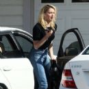 Amber Heard – Outside a home in Encinitas