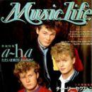 Morten Harket - Music Life Magazine Cover [Japan] (8 August 1986)