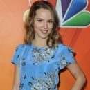 Actress Bridgit Mendler arrives at NBCUniversal's 2015 Winter TCA Tour - Day 2 at The Langham Huntington Hotel and Spa on January 16, 2015 in Pasadena, California