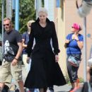 Jennifer Morrison on the Set of Once Upon A Time 07/22/2015