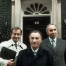 Paul Eddington as James Hacker in Yes, Minister and Yes, Prime Minister - 454 x 284