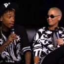 Amber Rose and Wiz Khalifa Interview with Angie Martinez in New York City - August 28, 2013