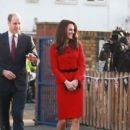 Prince William and Duchess Catherine visited Mitchell Brook School