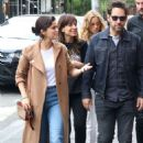 Selena Gomez with friends out in New York