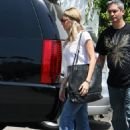 Nicole Richie - At Traffic School In Hollywood - July 25 2008