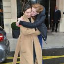 Alexina Graham and Luma Grohte at the Royal Monceau in Paris - 454 x 681