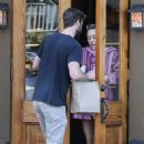 Miley Cyrus – Picking up Coffee in Savannah