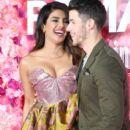 Priyanka Chopra and Nick Jonas : Premiere Of Warner Bros. Pictures' 'Isn't It Romantic - 402 x 600