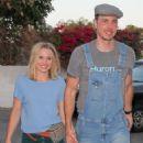 Kristen Bell and Dax Shepard – Arriving at Ellen DeGeneres show in West Hollywood