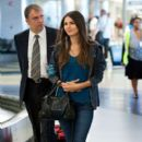 Victoria Justice was spotted arriving at Los Angeles International Airport today, August 22!