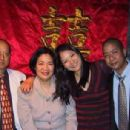 Lynn Chen,her Mother, father and brother Morgan - 444 x 306