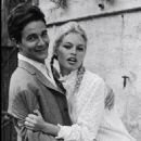 Brigitte Bardot and Jacques Charrier - 454 x 679