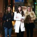 Dakota Johnson – Out for dinner with her friends in Los Feliz