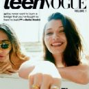 Bella Hadid - Teen Vogue Magazine Cover [United States] (February 2017)