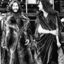 March 8th, 1970 - Eric Clapton and Alice Ormsby Gore, the teenage daughter of Lord Harlech