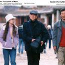 Left: Jiang Wen as Jasmine; Middle: Takakura Ken as Takada Gou-ichi; Right: Qiu Lin as Lingo. Photo by Bai Xiaoyan, courtesy of Sony Pictures Classics Inc. © 2006 CTB Film Company. - 454 x 332