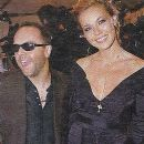 Connie Nielsen and Lars Ulrich - 389 x 534