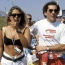 Adriane Galisteu & Ayrton Senna