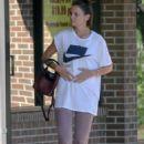 Katie Holmes – Leaving the gym in Atlanta - 454 x 681