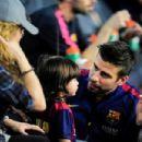 Shakira Mebarak and Gerard Pique