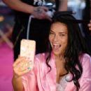 Adriana Lima – Victoria's Secret Fashion Show 2016 Backstage