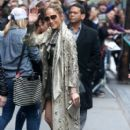 Jennifer Lopez making an appearance on 'The View' in New York City, New York on March 1, 2017