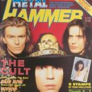 Jamie Stewart, Ian Astbury, Billy Duffy - Metal&Hammer Magazine Cover [United Kingdom] (13 November 1989)