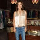 Rebecca Budig – Pop Up Event at Platt Boutique Jewelry and The Kit Vintage in LA