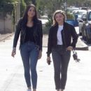 Chloe Moretz in Jeans – Out with a friend in LA - 454 x 538