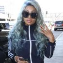 Blac Chyna at LAX Airport in Los Angeles, California - September 2, 2017