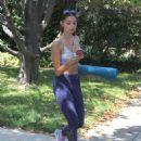 Kira Kosarin- Heading to Yoga Class in North Hollywood