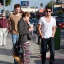 Miley Cyrus and Joshua Bowman coffee date in Los Angeles (February 7)