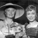 Michele Morgan and Giulietta Masina